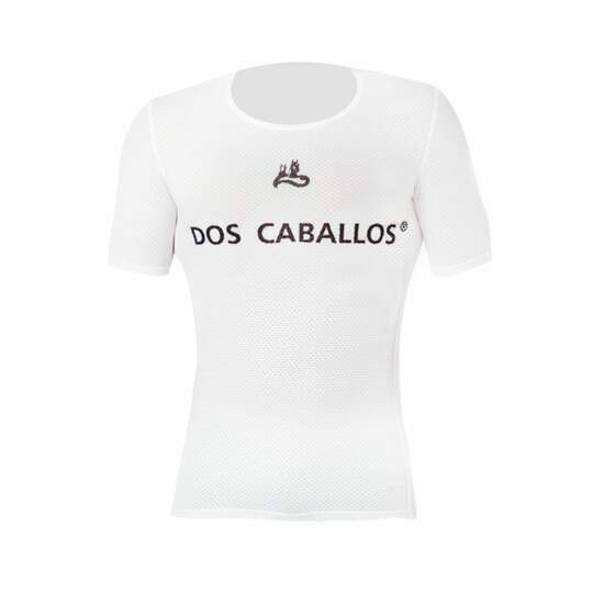 Dos Caballos Mesh short sleeve baselayer black. Highest...