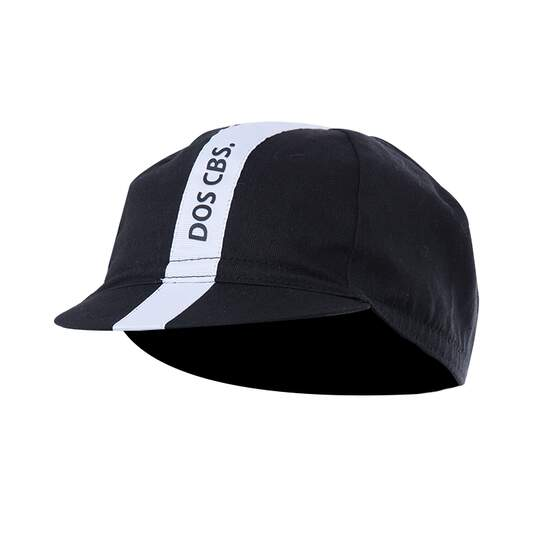 Dos Caballos racing cap classic black white. Perfect...