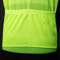 Endurance wind vest women black/ neon